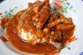 poulet cuisiné poulet au vin cuisine avec du chocolat ou thermomix