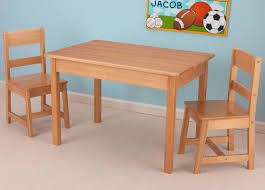 3 piece table and chair set kidkraft kids 3 piece wood table chair set reviews wayfair