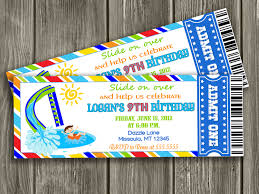 Invitation Card For Pool Party Free Pool Party Invitations Templates Cloudinvitation Com