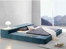 Low Height Bed Frame Top Contemporary Low Beds With Regard To House Prepare
