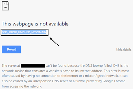 What Is Dns Server Fix by Fix Dns Probe Finished Nxdomain Error In Google Chrome In Windows