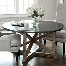 stainless steel top dining table intended for stainless steel top dining tables metal work table stainless steel dining table zinc with regard to stainless steel top