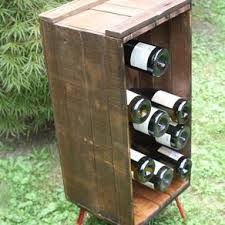 custom made caymus special selection wine crate stepping stool by