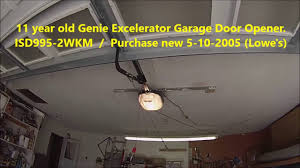 genie garage door opener not working genie excelerator garage door opener isd995 2wkm fix youtube