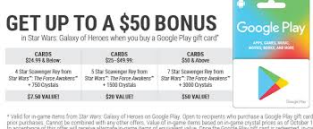 purchase play gift card gamestop black friday up to 50 bonus in wars galaxy of