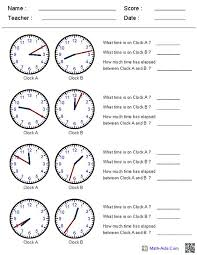 time worksheet generator worksheets