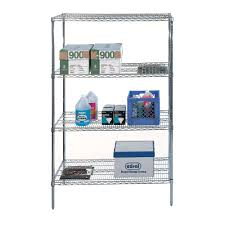 Wire Shelving Storage Free Standing Storage And Display Shelves Organize It