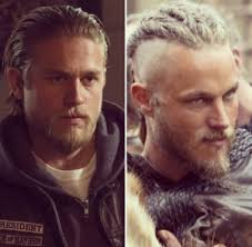what hairstyle ragnar lothbrok sons of anarchy vs vikings how to fangirl