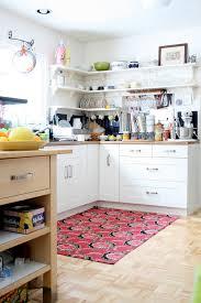 Navy Kitchen Rug Kitchen Shelf Brackets Kitchen Eclectic With Area Rug Floral Rug
