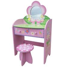 childrens dressing tables with mirror and stool dressing table and stool vanity mirror fairy fashion hand painted