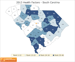 Greenville Sc Zip Codes Map by South Carolina Rankings Data County Health Rankings U0026 Roadmaps
