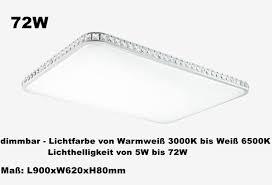 Deckenleuchte Schlafzimmer Dimmbar Dimmbar Led Deckenlampe Deckenleuchte 24w 72w Wandlampe