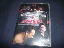 pro wrestlers vs zombies dvd 2 discs roddy piper hacksaw jim