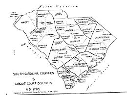 Lexington Sc Map The Bozeman Adair Family