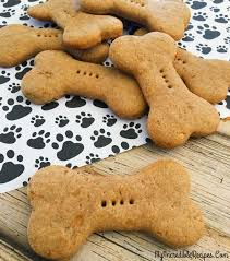 recipes for dog treats 4 ingredient dog biscuits