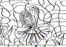 animal color by number color by number butterfly coloring pages