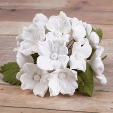 white hydrangeas 10 bunches of hydrangeas and leaves white caljavaonline
