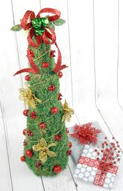 diy rustic moss christmas tree by the scrap shoppe do more for less