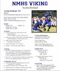 Sample Soccer Resume by Good Hockey Resume Will Help Get You Noticed In The Hockey World