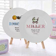 birth plates personalized personalized baby plates baby birth plates