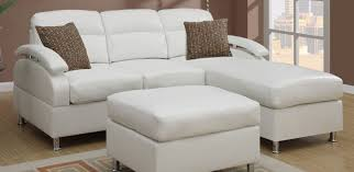 Chenille Sectional Sofa Sofa 2 Piece Modern Bonded Leather Right Facing Chaise Sectional