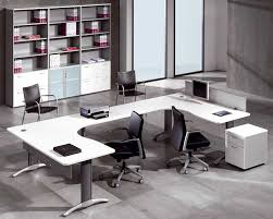 furniture wonderful white office furniture for clean and modern