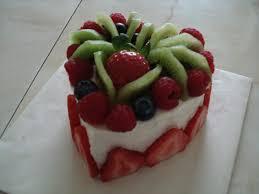 fresh fruit cake 2 delicious heart shaped fresh fruit cak u2026 flickr