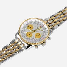 breitling gold bracelet images Breitling navitimer two tone 18k gold ss d23322 neofashion jpg