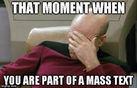 Mass Text Meme - captain picard facepalm meme imgflip