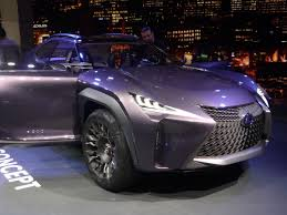 lexus ux suv concept paris lexus ux and seven seat rx at the tokyo motor show in november
