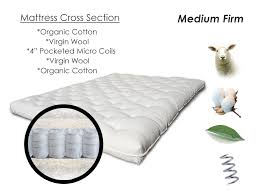 Comfortable Futon Sofa Bed Pure Comfort Organic Spring Futon Sofabed Mattress Affordable