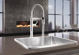 magnetic kitchen faucet blancoculina mini 1 8 blanco