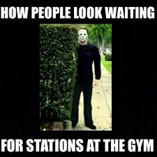 Waiting Meme - waiting for stations funny gym meme