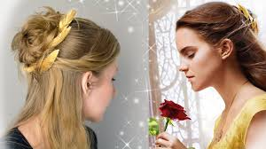 emma watson hairdos easy step by step beauty and the beast hair tutorial emma watson as belle
