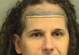 Messed Up Hairline - face tattoos that were complete fails