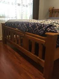 double bed timber frame beds gumtree australia holdfast bay
