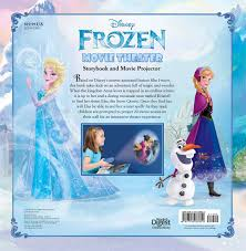 disney frozen movie theater storybook u0026 movie projector book