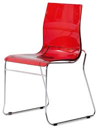 Red Dining Chair Wire Gel Chair Dining Chairs By Domitalia Usa