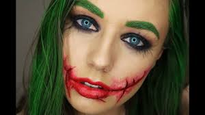 heath ledgers the joker female version make up 31 days of