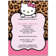 kitty baby shower invitations invitesbaby baby
