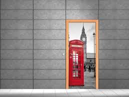 Stickers De Porte Trompe L Oeil by Wallstickers Folies Doors Wall Sticker