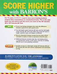 buy ap calculus barron u0027s ap calculus book online at low prices