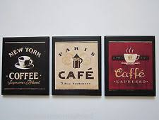 Coffee Wall Decor For Kitchen Coffee Wall Decor Roselawnlutheran