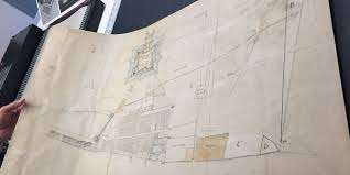 Maps Michigan Login by See The Rare Hand Drawn 1790 Map Of Detroit Discovered In