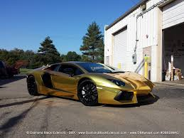 gold chrome bentley lamborghini aventadoor lp700 gold chrome wrap by dbx aka u201cking of