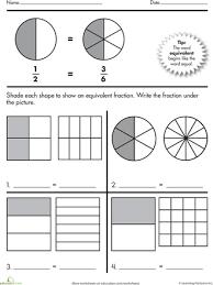 find equivalent fractions worksheet worksheets
