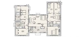 housing floor plans marvelous u shaped house plans 9 fresh c floor plan medium with pool