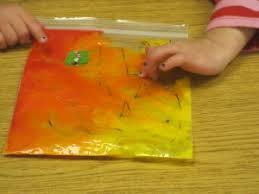 simple idea for mixing paint colors in preschool teach preschool