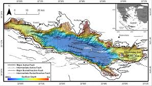 Corinth Greece Map by Progress On Future Drilling In The Active Corinth Rift Greece