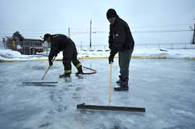 Making Ice Rink In Backyard Backyard Ice Rink Plans